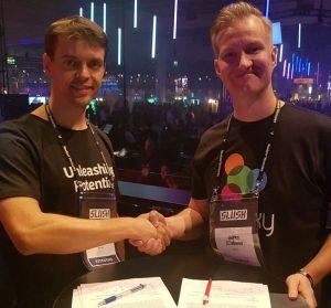Palkkaus.fi with Nordea at Slush 2017