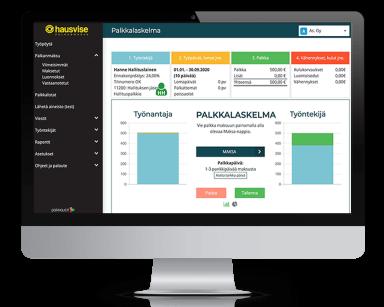Isännöinnin ohjelmisto Hausvise Palkkaus.fi:n kumppaniksi