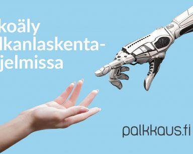 Palkkaus.fi kehittää tekoälyä ja koneoppimista palkkahallintoon